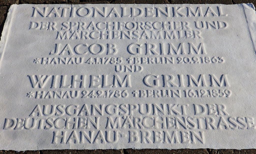 Nationaldenkmal Grimm
